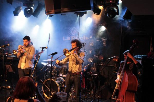 Le Band Magnétique, Café de la Pêche- Montreuil, 25/01/2019