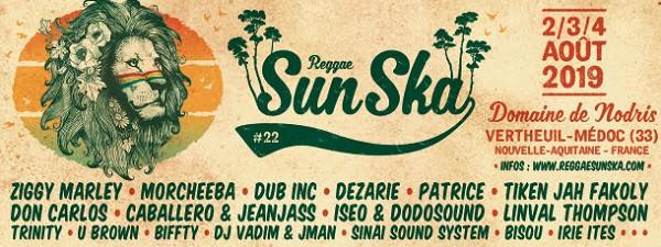 Bannière Reggae Sun Ska