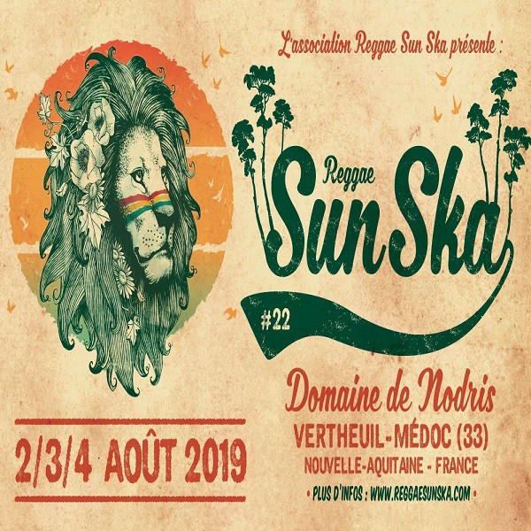 Affiche Reggae Sun Ska 2019