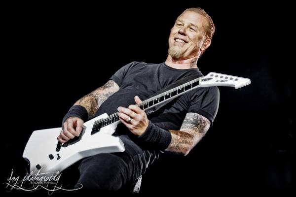 James Hetfield (Metallica), Sonisphere France 2011