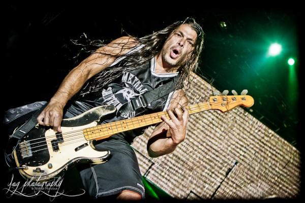Robert Trujillo (Metallica), Sonisphere France 2011