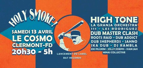 holy smoke, reggae 2019, bat records, Dub Shepherds, High tone