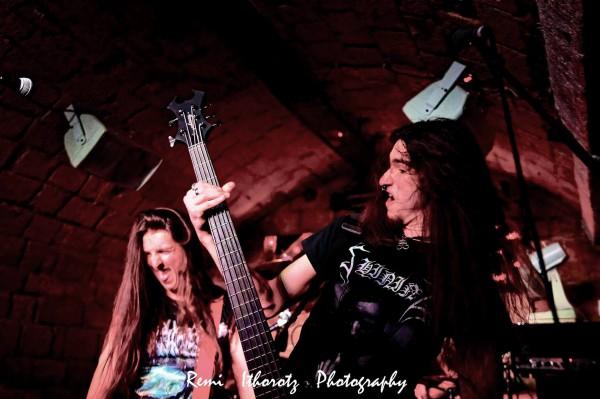 bloody alchemy, concert, au klub, 2019, death thrash metal