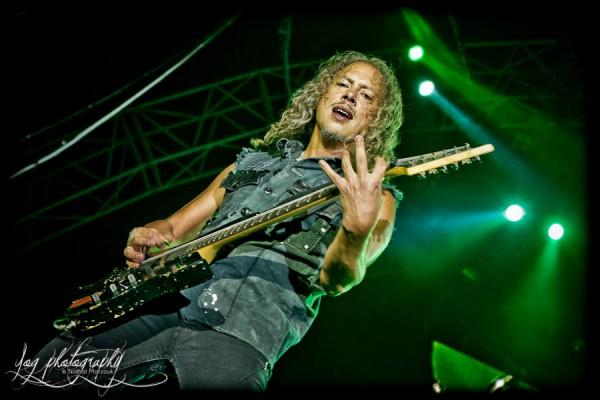 Kirk Hammett (Metallica), Sonisphere France 2011
