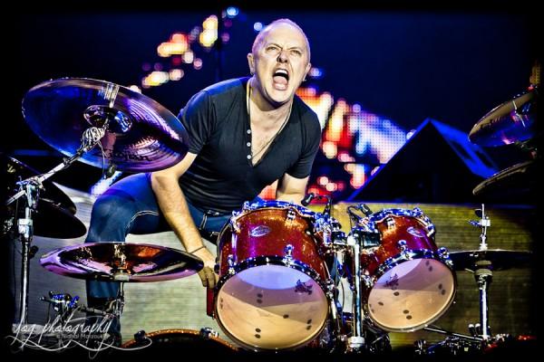 Lars Ulrich (Metallica), Sonisphere France 2011