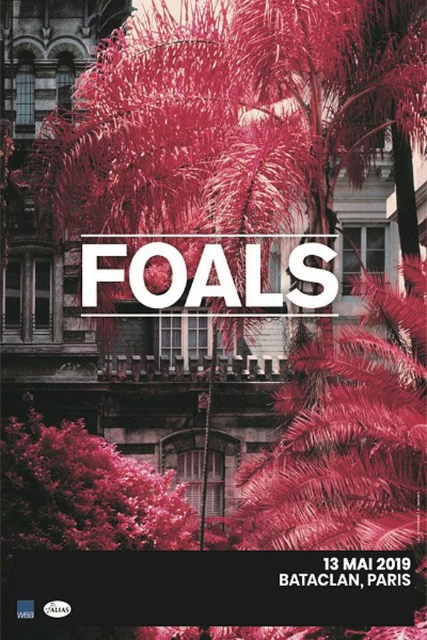 foals, concert, bataclan, live, tournée