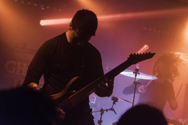 ghost iris, concert, paris, backstage by the mill, 2019, metalcore progressif