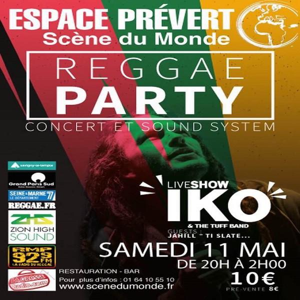 Iko Tuff en concert, le 11 mai à l'Espace Prévert, Savigny le Temple