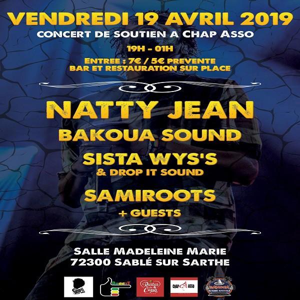 Rastas du Coeur du 19 avril 2019