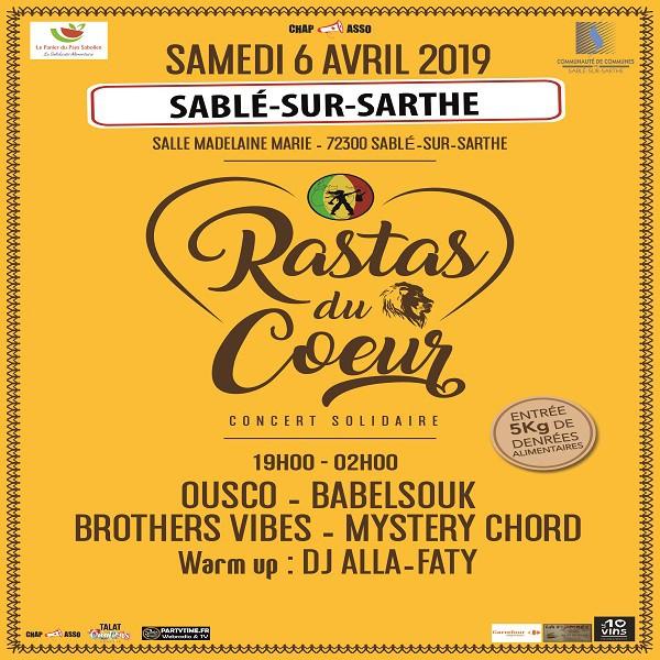 Rastas du Coeur du 6 avril 2019