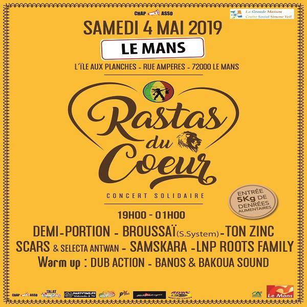 Rastas du Coeur du 4 mai 2019