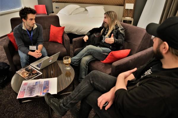 Interview Sabaton, La grosse radio, Pär, Chris