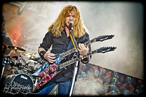 Megadeth, Dave Mustaine, Sonisphere France 2011