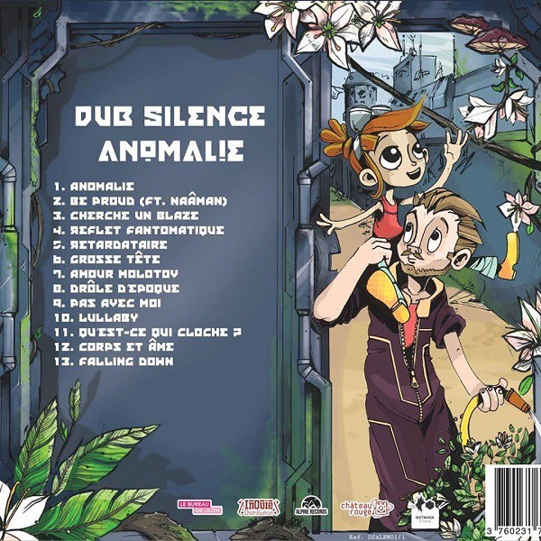 Pochette Tracklist - Anomalie, Dub Silence