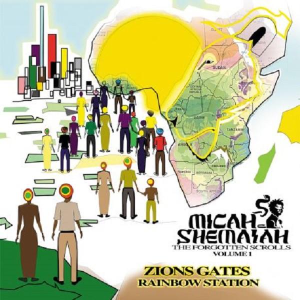 Cover Zion Gates - Micah Shemaiah, Jahsolidrock