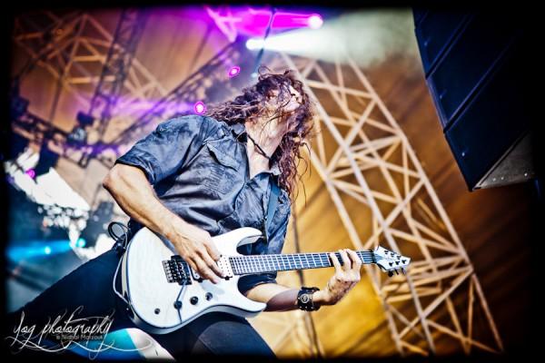 Chris Broderick, Megadeth, Sonisphere 2011