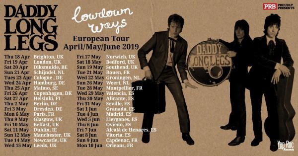 Daddy Long Legs Tour Dates 2019