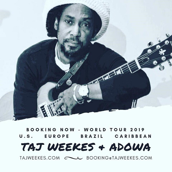 Taj Weekes & Adowa - Flyer Booking 2019