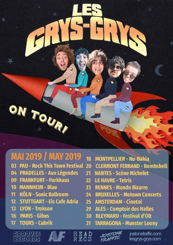 Grys Grys Tour dates 2019
