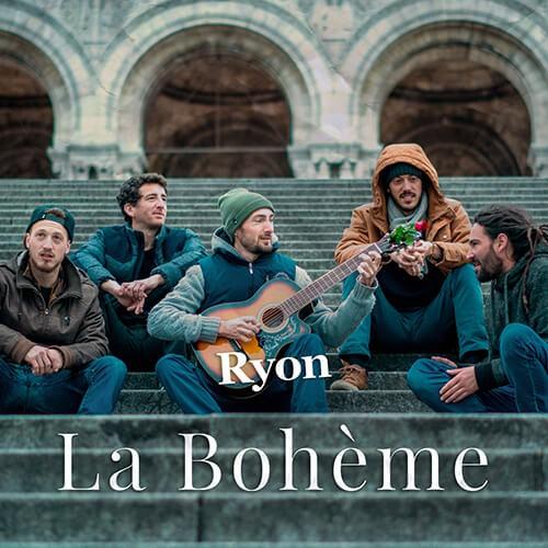 """Pochette Ryon """" La Bohème """""""