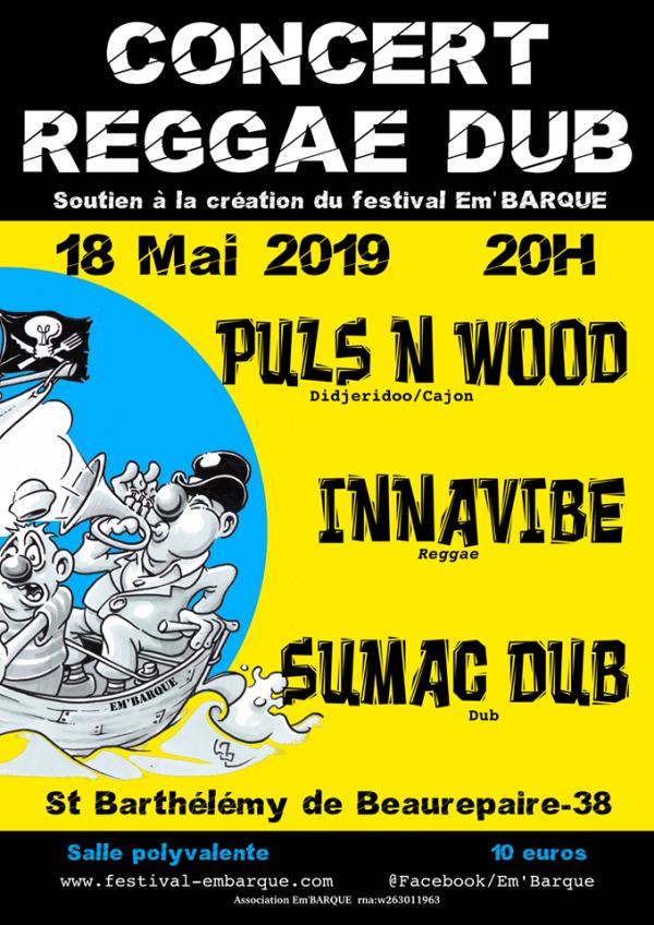 Association Em'barque concert du 18 Mai 2019