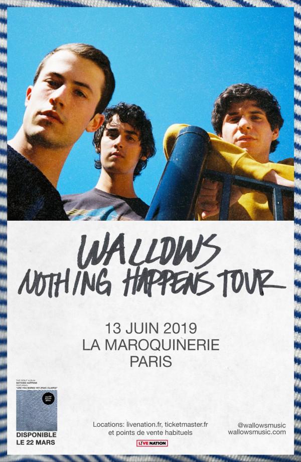 wallows, dylan minnette, rock, indie, alternative, concert, paris