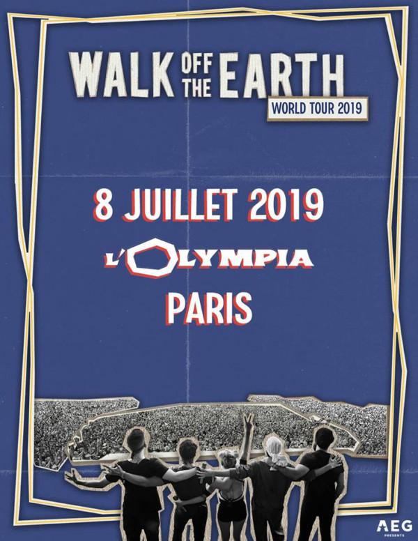 walk off the earth, olympia, paris, concert, rock