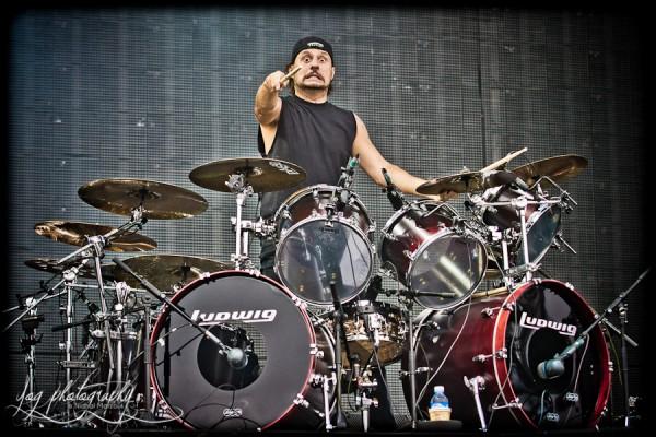 Dave Lombardo, Slayer, Sonisphere France 2011