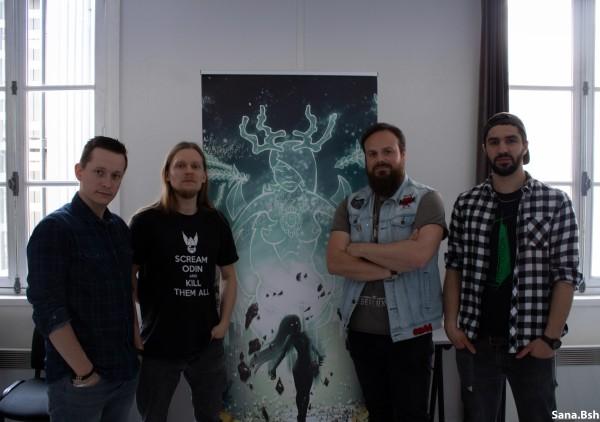 Split Brain, juste une trace, death metal mélodique, discours idylliques, 2019, nouvel album, interview, Sana bsh