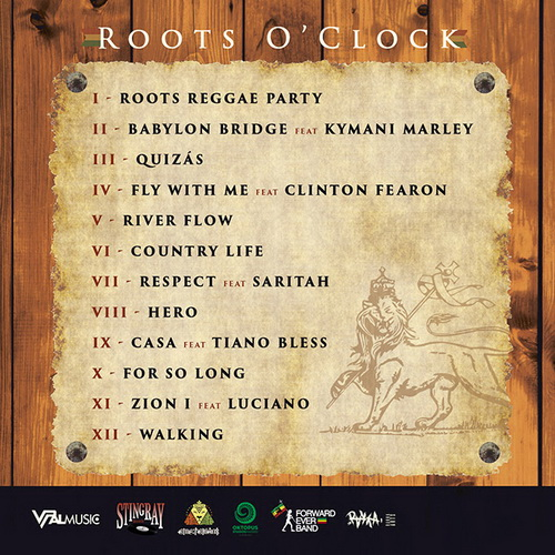 Emeterians - Roots O ' clock pochette verso