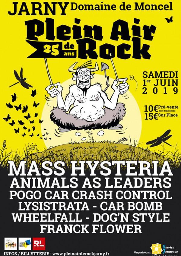 Plein Air de Rock, Jarny, festival