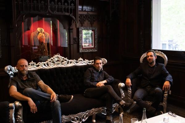 Press Gang Metropol, rock, new wave, point black, promotion, replica promotion