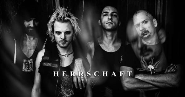 HERRSCHAFT, album, new, 2019, hellfest, france, le festin du lion, cover
