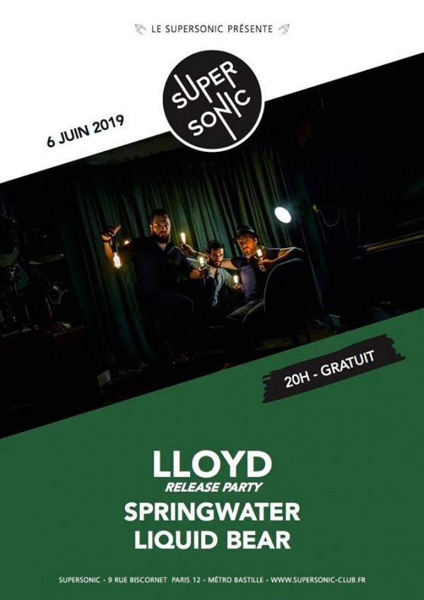 Lloyd, Black Haze, Supersonic