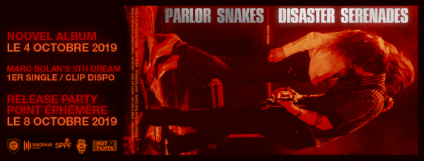 Parlor Snakes, Disaster Serenades, release party