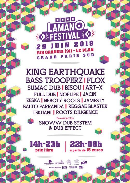 Affiche Lamano Festival