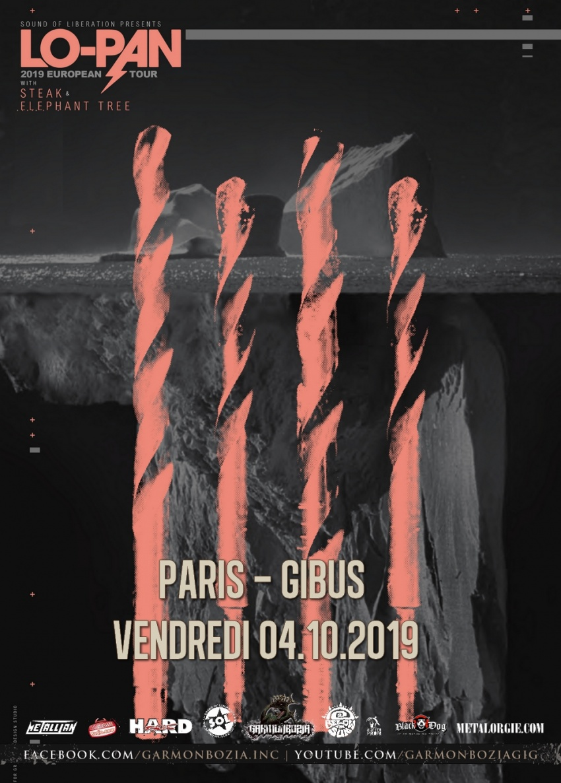 Lo-Pan, Steak, Elephant Tree, Gibus, Paris, 2019