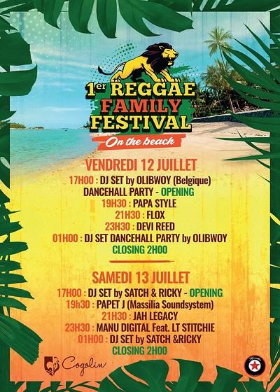 reggae family festival, cogolin, var