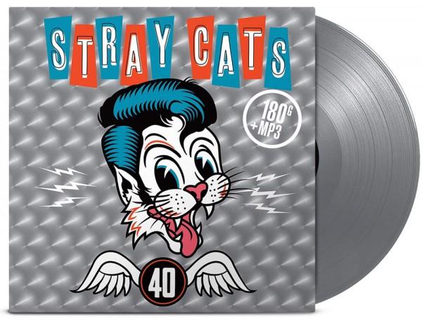 Stray Cats 40 vinyle