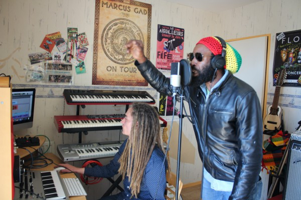 BaBou meets I-Taweh - Enregistrement des voix