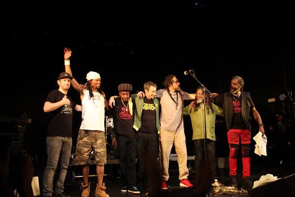 Roots Heritage, Live à Guyancourt.1 février