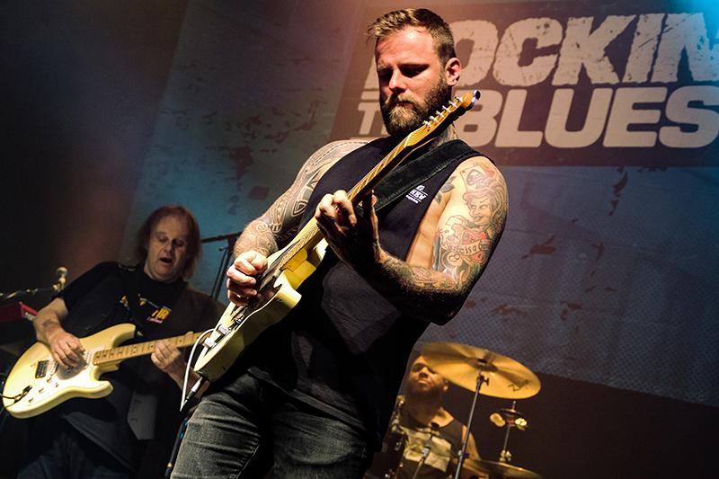 Rockin' The Blues, Walter Trout, Johnny Lang, Kris Barras