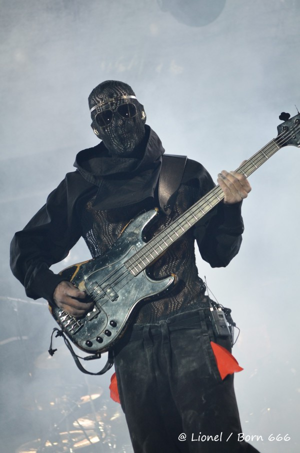 Bassiste, Rammstein, live, paris