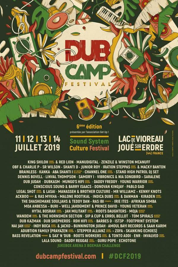 Affiche dub Camp Festival 2019