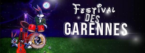 Flyer festival des Garennes - Morbihan