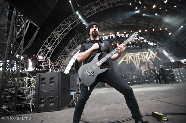Anthrax, Sonisphere France 2011