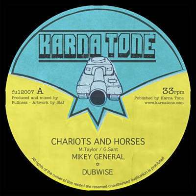 image LP Chariots and Horses - Mikey General & Fullness