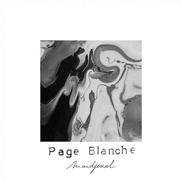 Cover Page Blanche - Mardjenal