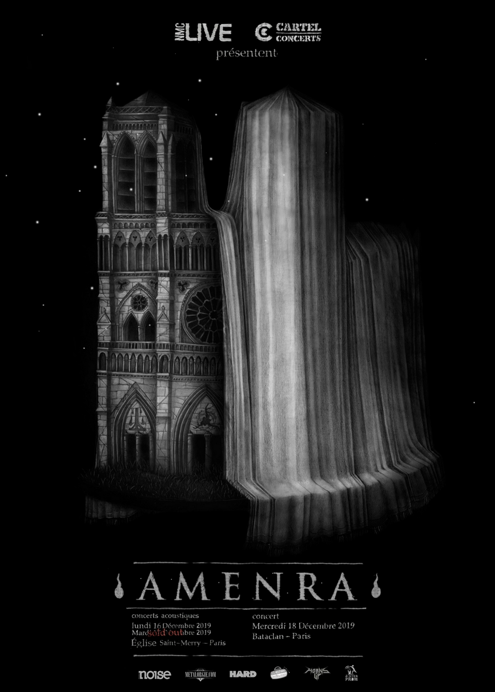 Amenra, Tour, Paris, 2019, Bataclan