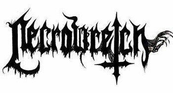 Necrowretch, French death metal band logo